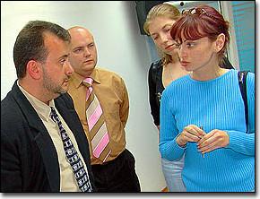 Посетители семинара в центральном офисе ЗЕНОНа