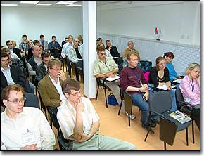 Десятки слушателей в Москве