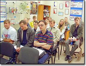 Помешение екатеринбургского офиса ЗЕНОНа заполнено до отказа